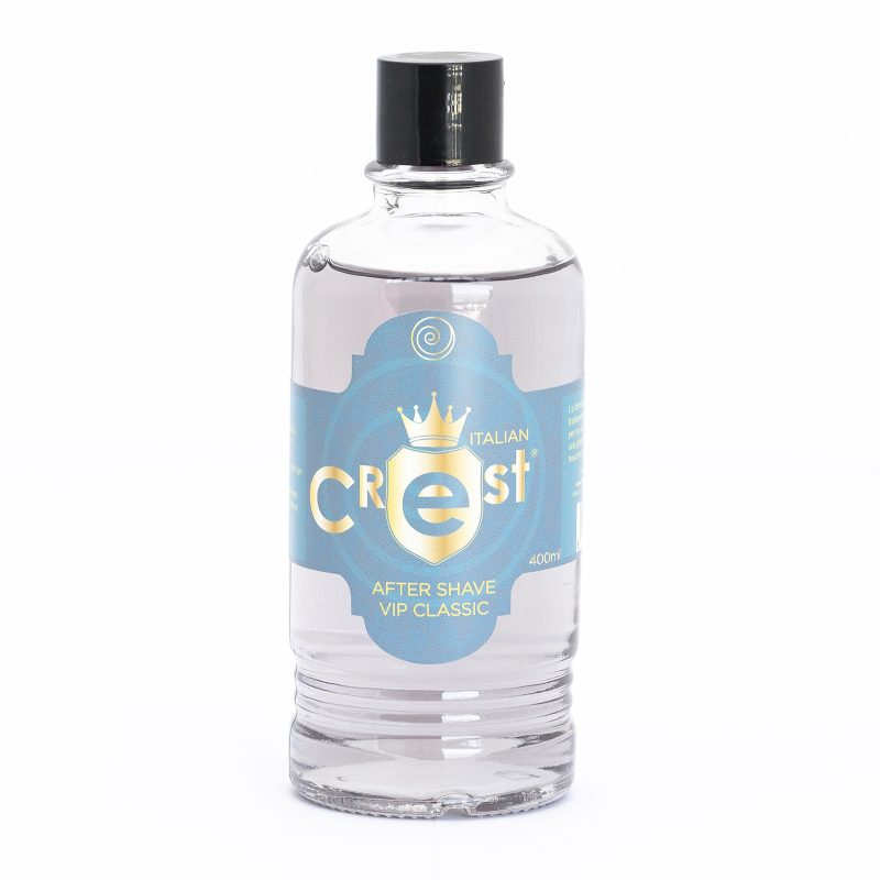 After Shave Vip Classic 400 Ml Italian Crest