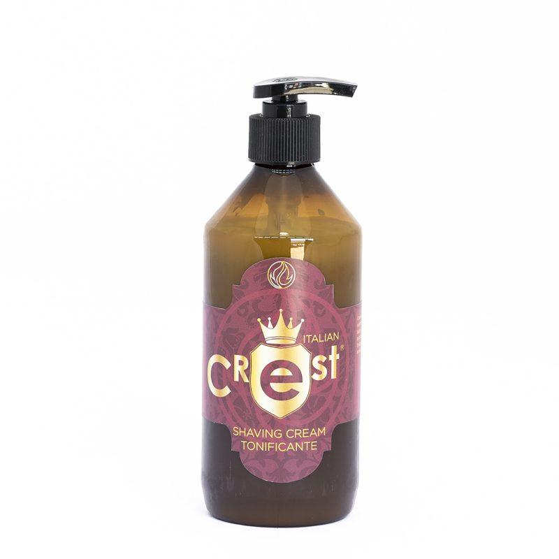 Shaving Cream Tonificante Italian Crest 500 ML